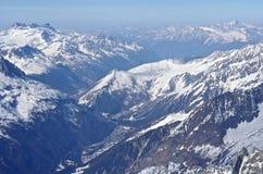 Franse Alpen Royalty-vrije Stock Fotografie