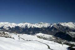 Franse Alpen I Stock Foto's