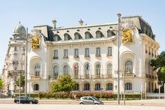 Franse Ambassade in Wenen Stock Afbeelding