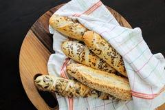 Franse baguette Stock Fotografie
