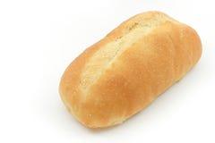 Franse baguette op witte achtergrond stock afbeelding