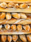 Franse baguettes royalty-vrije stock afbeelding