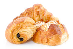 Franse bakkerijproducten Royalty-vrije Stock Afbeeldingen
