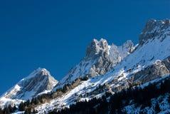 Franse bergen royalty-vrije stock foto's