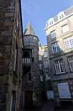 Franse bestemming, Saint Malo Royalty-vrije Stock Fotografie