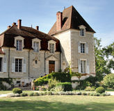 Franse Chateau Stock Foto's