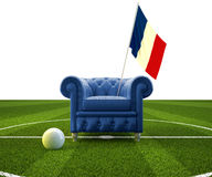 Franse cheer stock illustratie