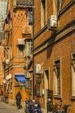 Franse de Concessiestreek van Shanghai stock fotografie