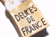 Franse delices stock afbeeldingen