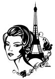 Franse elegant Stock Foto's