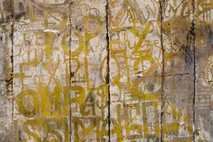 Franse Graffito2 Stock Afbeeldingen