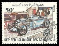 Franse Grand Prix, Delage stock fotografie