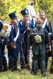 Franse infanterie Royalty-vrije Stock Fotografie