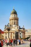 Franse kathedraal (Franzosischer-Dom) in Berlijn Stock Fotografie
