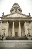 Franse Kathedraal in Gendarmenmark Stock Afbeelding