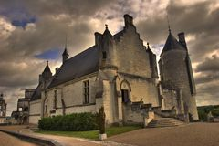 Franse kerk Royalty-vrije Stock Afbeelding