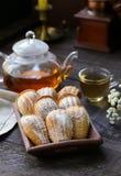 Franse koekjes Madeleine Stock Foto's