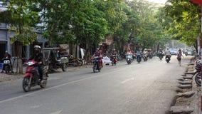 Franse kwarten in Hanoi stock afbeelding