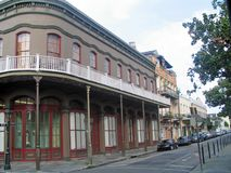 Franse Kwarten (New Orleans) Stock Afbeeldingen