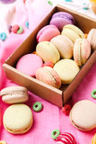 Franse macaron stock fotografie