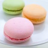 Franse Macaron-Koekjes Stock Foto's