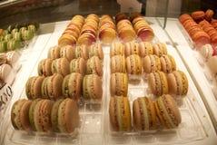 Franse Macarons in Parijs royalty-vrije stock fotografie