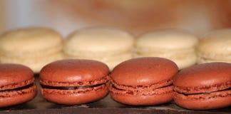 Franse makarons Dessert Stock Afbeeldingen