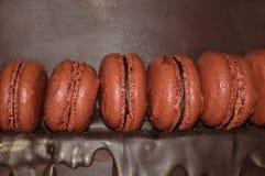 Franse makarons Dessert Stock Fotografie