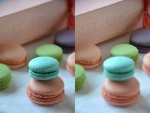 Franse maracoons Stock Foto's