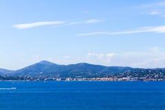 Franse Mediterrane kust Stock Afbeeldingen