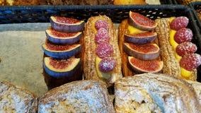 Franse ochtendgebakjes Stock Afbeelding