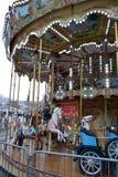 Franse oude carrousel Royalty-vrije Stock Foto