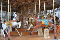 Franse oude carrousel Stock Afbeelding