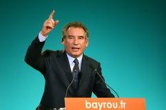 Franse politicus Francois Bayrou Royalty-vrije Stock Afbeelding