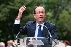 Franse politicus Francois Hollande Royalty-vrije Stock Foto's