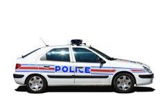 Franse politiewagen royalty-vrije stock fotografie