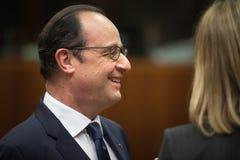 Franse President Francois Hollande Royalty-vrije Stock Foto