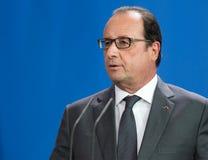 Franse President Francois Hollande Royalty-vrije Stock Fotografie