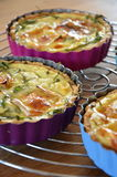 Franse quiche Stock Afbeelding