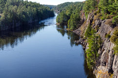 Franse rivier Royalty-vrije Stock Fotografie