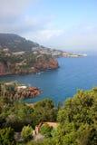 Franse Riviera Royalty-vrije Stock Afbeeldingen