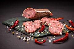 Franse Salami royalty-vrije stock fotografie