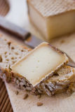 Franse smakelijke kaas Royalty-vrije Stock Fotografie