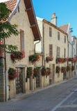 Franse straat Stock Foto's
