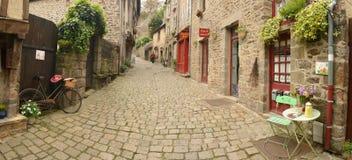 Franse straat Royalty-vrije Stock Foto's