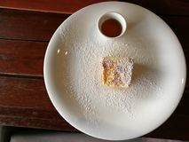 Franse toost voor ontbijt royalty-vrije stock foto's