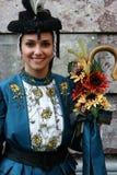 Franse Traditionele Danser stock foto