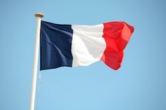 Franse tricolour Royalty-vrije Stock Afbeelding