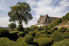 Franse Tuinen stock foto's