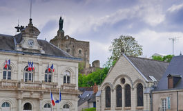 Franse Villiage Stock Afbeeldingen